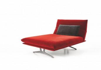 Chaise longue design AD.SENSO largueur 120 cm