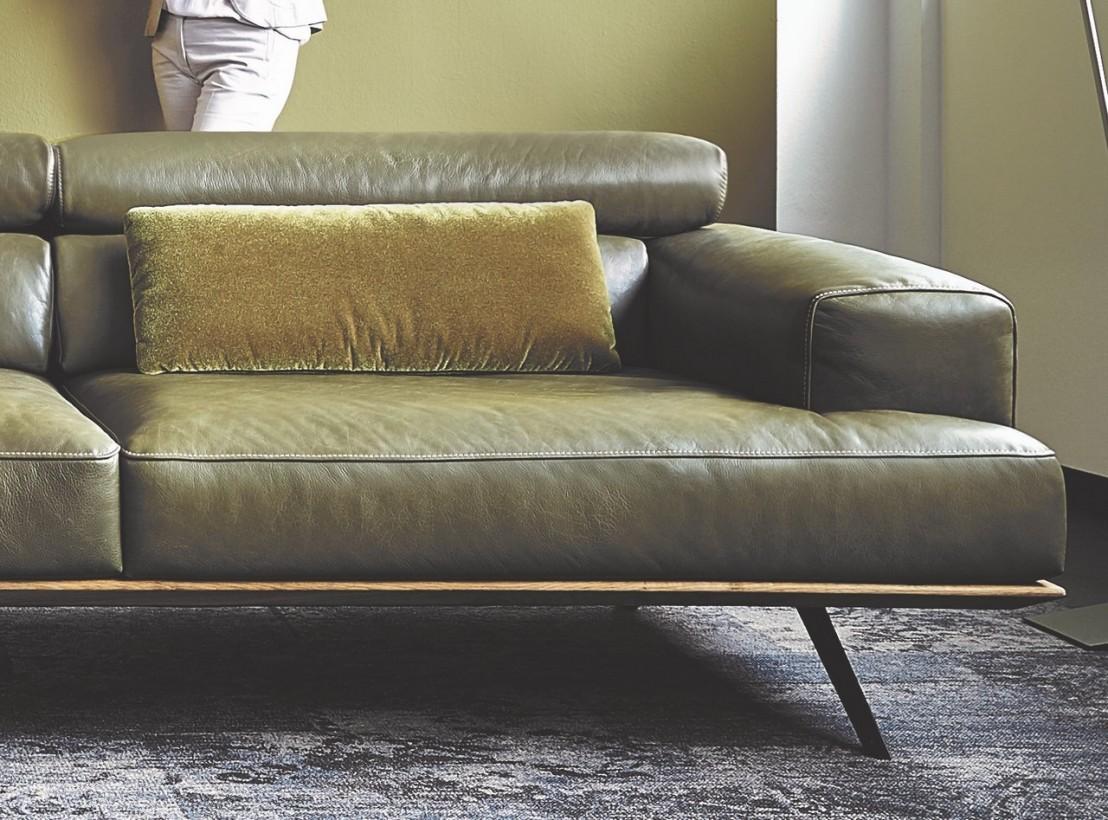 canap angle design contemporain cuir et bois temperant pm. Black Bedroom Furniture Sets. Home Design Ideas