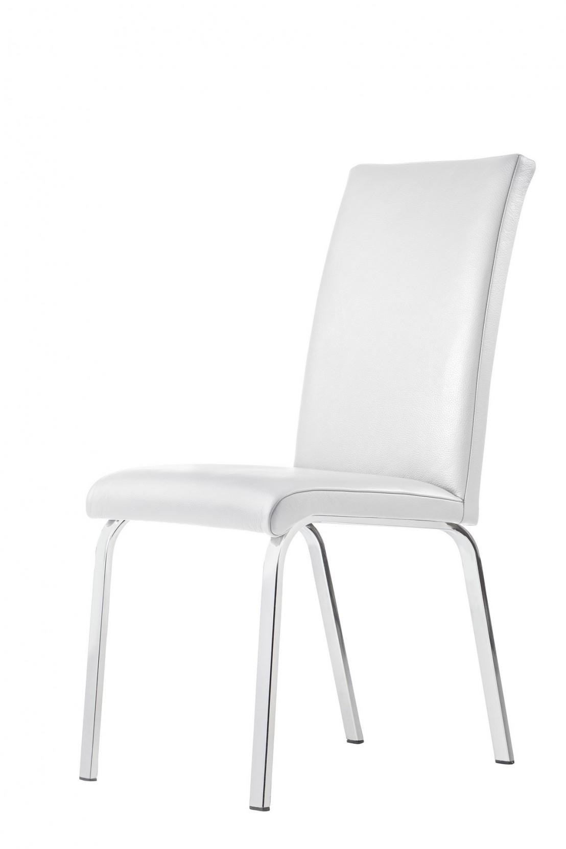 Chaise lofty m lot de 4 chaises design cuir ou tissu for Chaise 4 pieds design