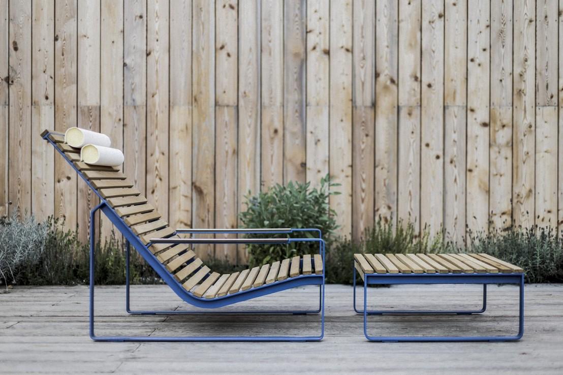 Fauteuil transat table transformables en chaise longue for Transat chaise longue bois