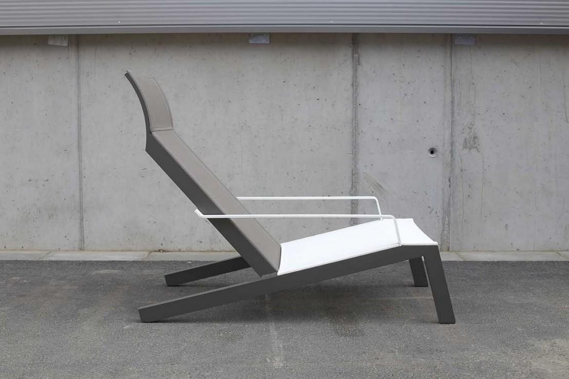transat alva fauteuil avec accoudoirs ext rieur pour