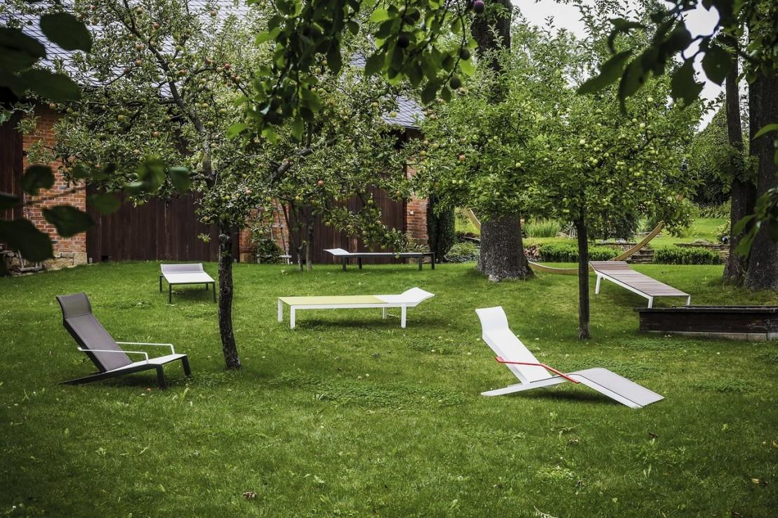 Transat alva fauteuil avec accoudoirs ext rieur pour for Jardin et exterieur