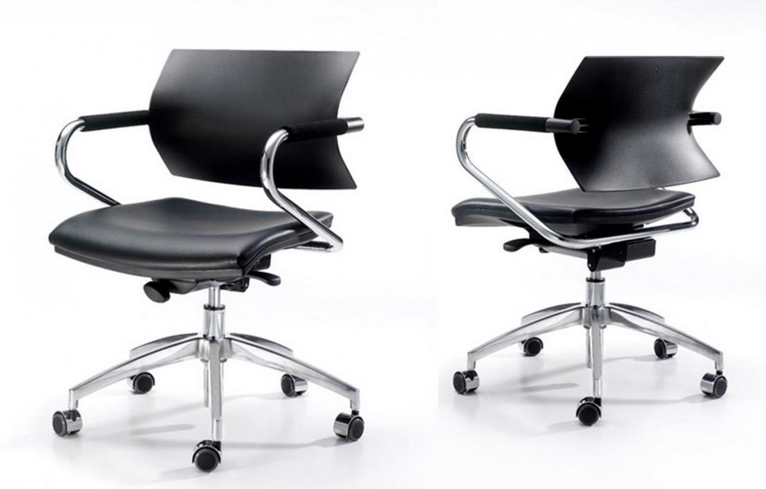 fauteuil de bureau r glable aire jr cuir artificiel ou tissu. Black Bedroom Furniture Sets. Home Design Ideas