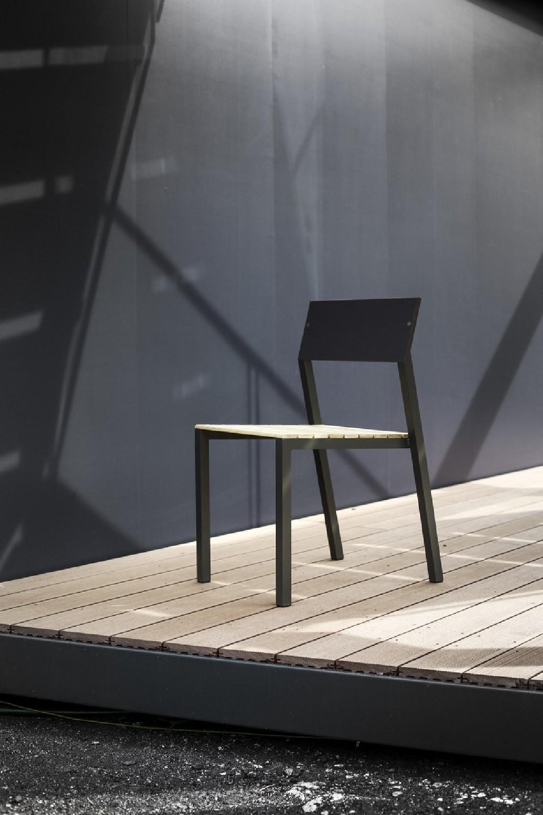 salon de jardin cora table rectangle 175 cm et 4 chaises m tal aluminium de couleur plateau. Black Bedroom Furniture Sets. Home Design Ideas