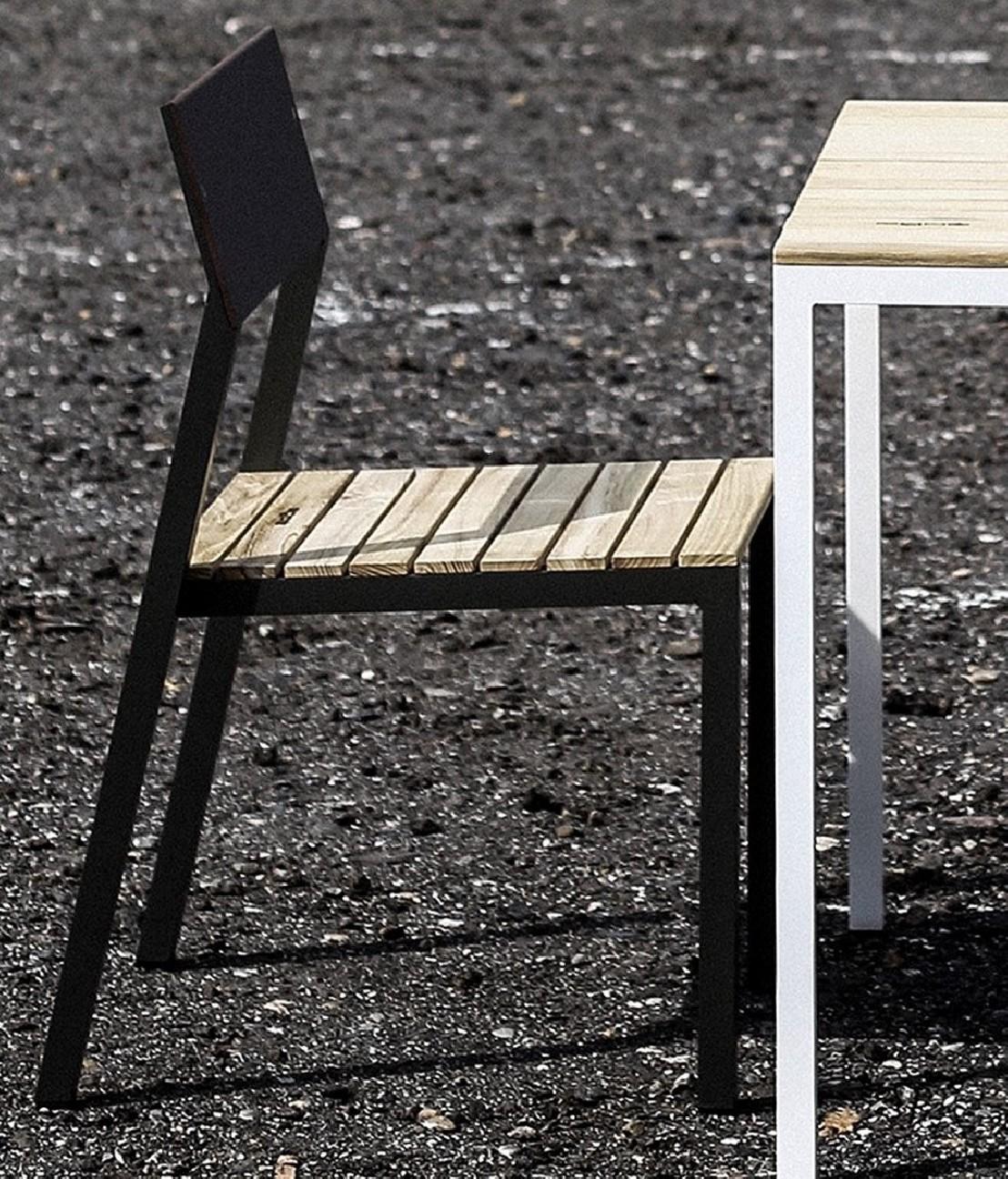 Sp cial balcon table 2 chaises design - Table et chaise balcon ...