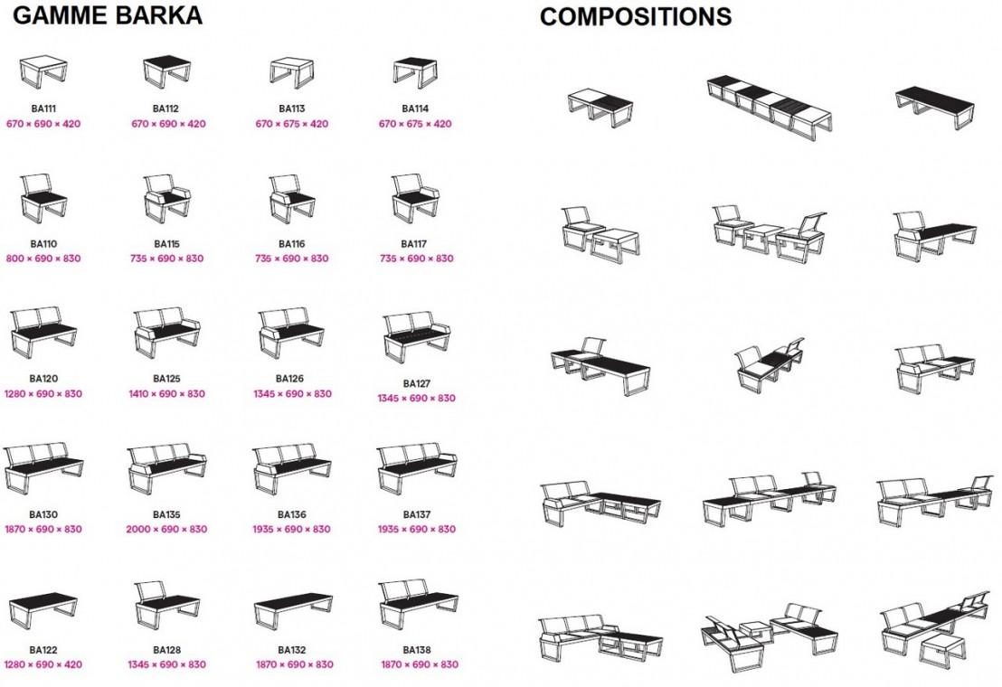 fauteuil ext rieur de jardin barka design en bois massif