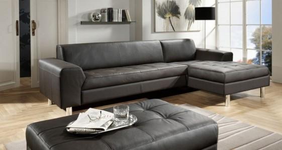 petit canap d 39 angle pour petit appartement cuir janis bb seanroyale. Black Bedroom Furniture Sets. Home Design Ideas