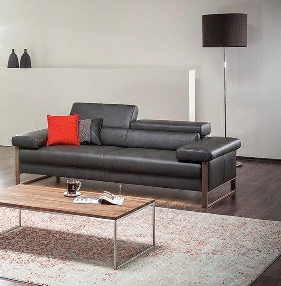 Canapé design 2 places assises motorisées DREAMLINE