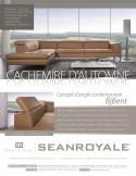 Canapé design minimaliste avec appuis-tête BJBent 2,5 places