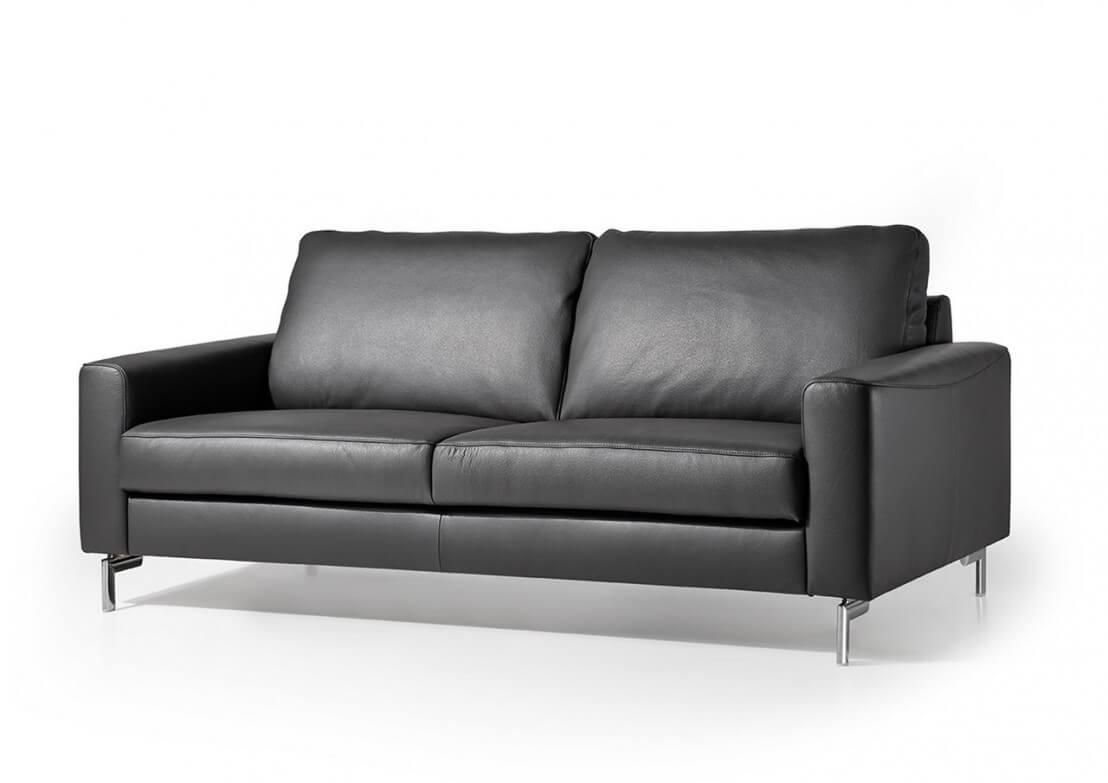 canap cuir design 3 places cubique edd en cuir. Black Bedroom Furniture Sets. Home Design Ideas