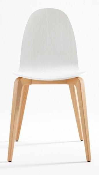 Chaises par 6 design en bois Bliss