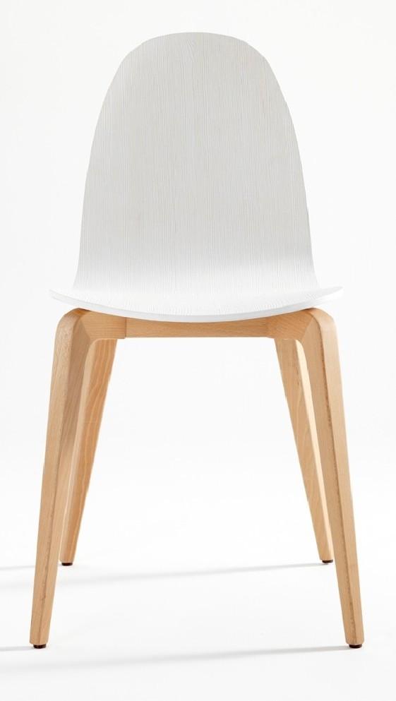 Chaises design en bois Bliss, par 6