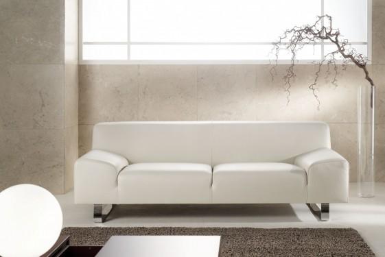 Canapé design minimaliste en cuir 3 places M.Madonna