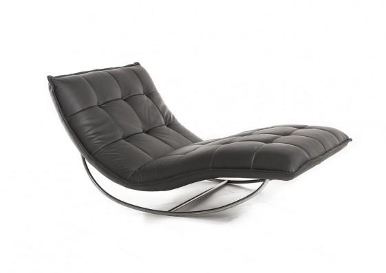 chaise longue de relaxation rockme xxl en cuir. Black Bedroom Furniture Sets. Home Design Ideas