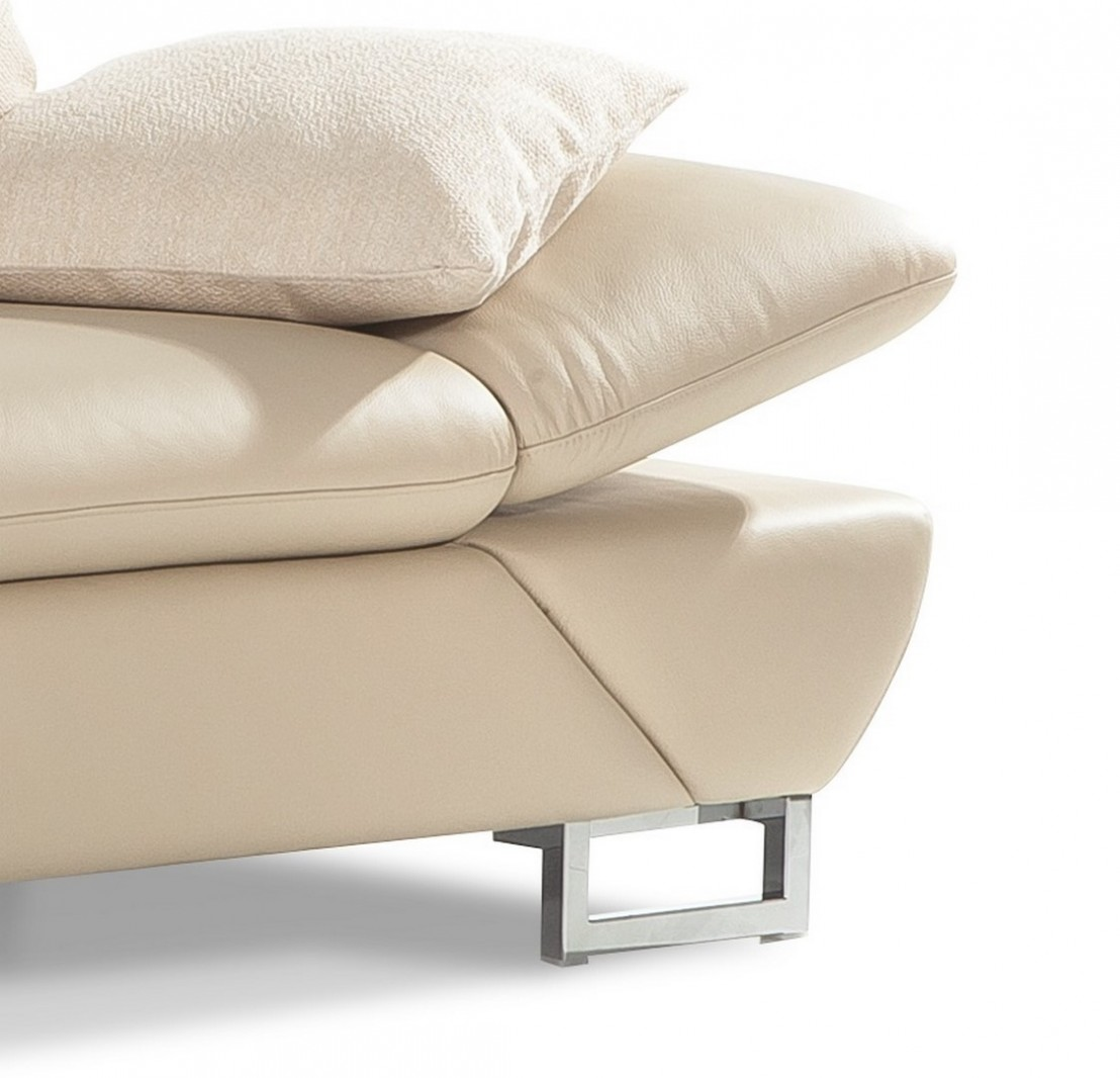 canap profondeur assise r glable appuie t tes lineflex 3 places design cuir ou tissu seanroyale. Black Bedroom Furniture Sets. Home Design Ideas