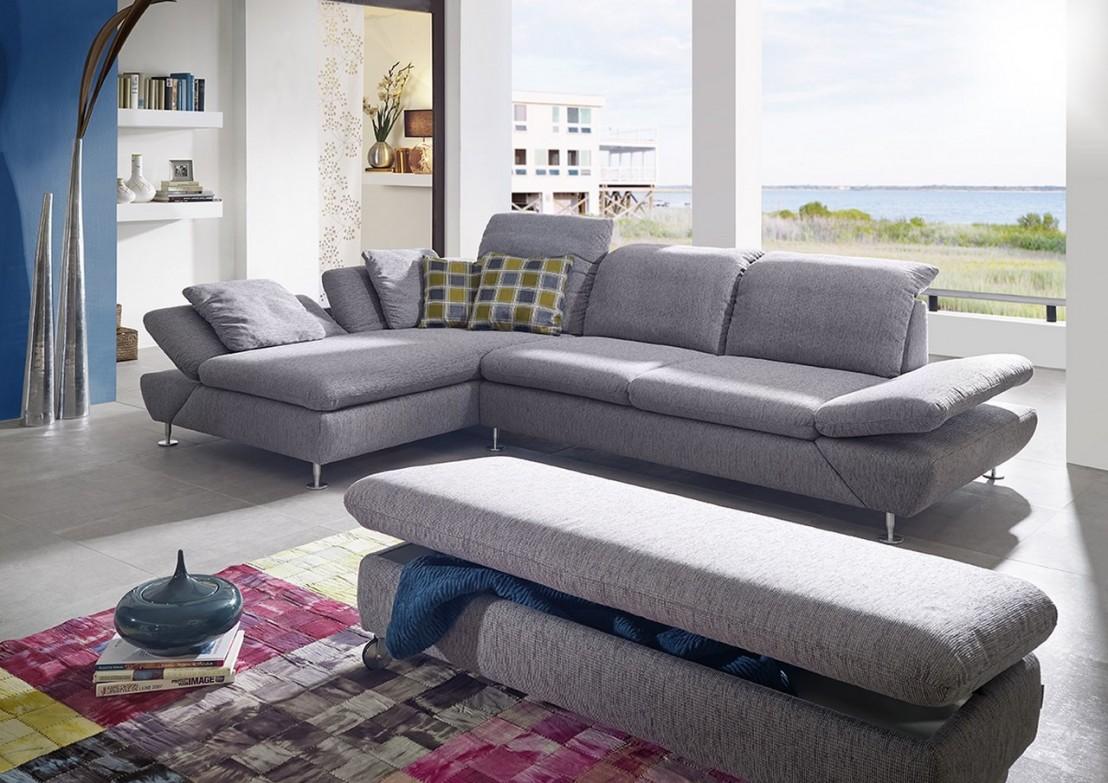 Canapé d angle LINEflex 3 5 places avec grande chaise longue en