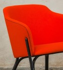 Fauteuil lounger Split design Arik LEVY, tissu Exclusive