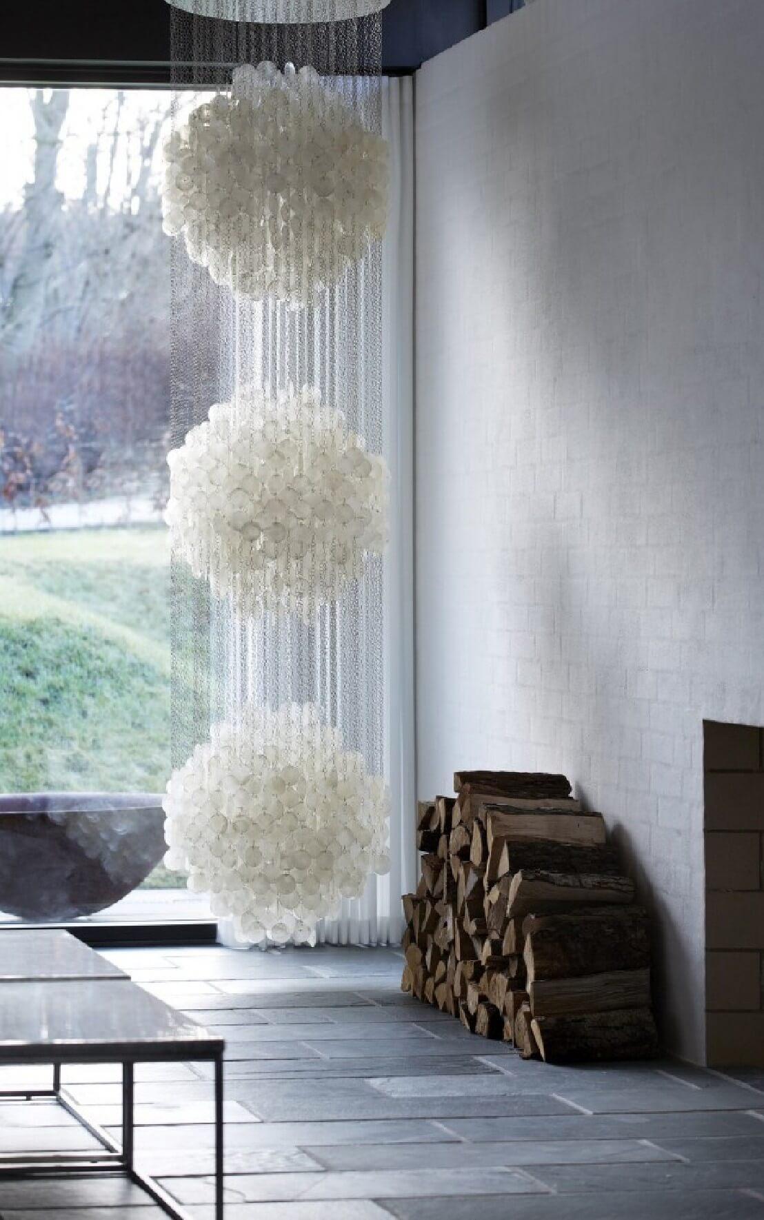 lustre design verner panton nacre fun 3dm. Black Bedroom Furniture Sets. Home Design Ideas