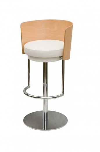 Tabouret de bar ASTON, lot de 2