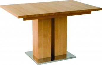 Table rectangle grande rallonge bois MD1 160 x 80 cm