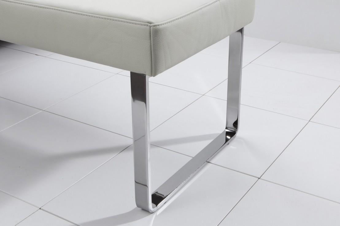 banc design en cuir diamonddining 120 cm. Black Bedroom Furniture Sets. Home Design Ideas