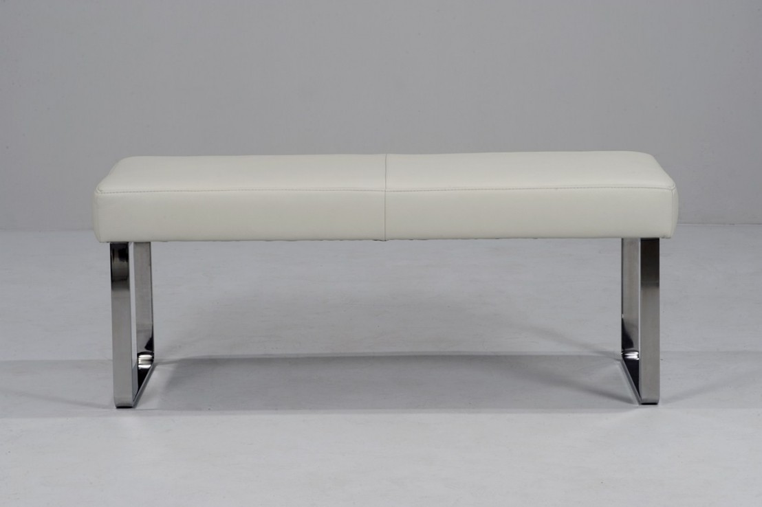 banc design en cuir diamonddining 140 cm. Black Bedroom Furniture Sets. Home Design Ideas