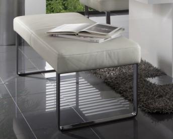 Banc design cuir ou tissu DiamondDining 140 cm