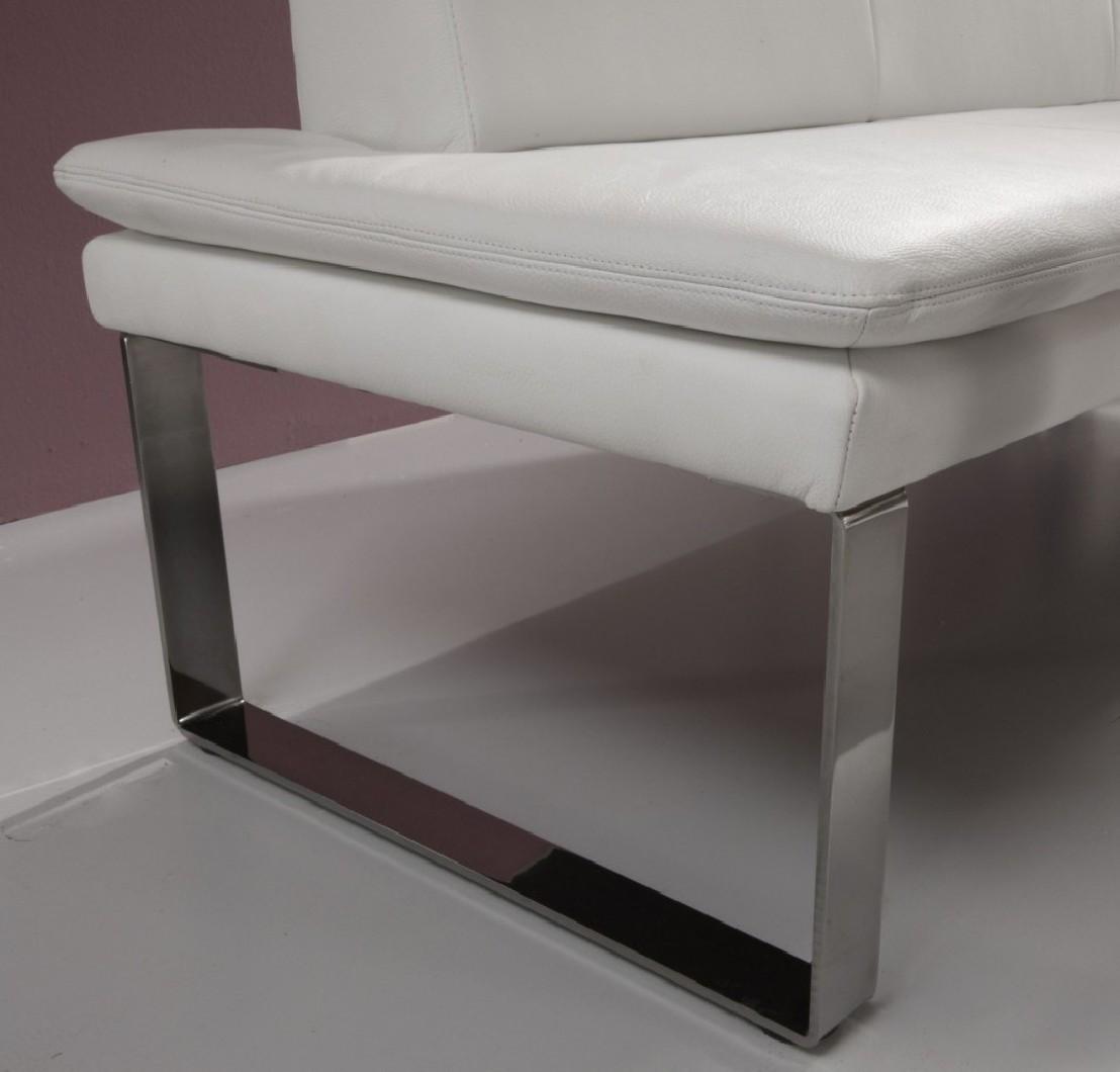 Banquette design en cuir softway 120 cm for Fauteuil banquette design