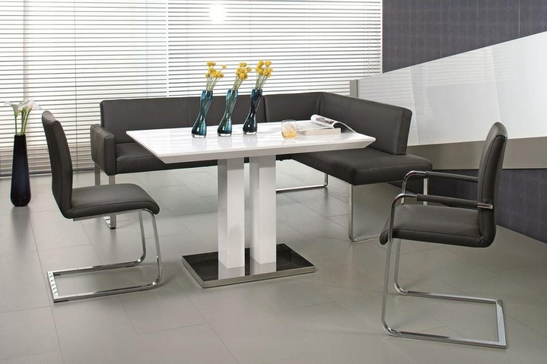 Chaise design en cuir puredining - Chaise en cuir design ...